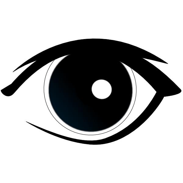 Clipart horse eyes.