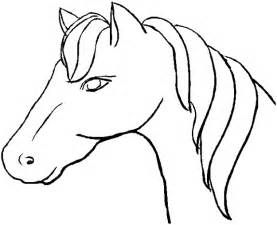 Easy Drawings Of Horses Heads.