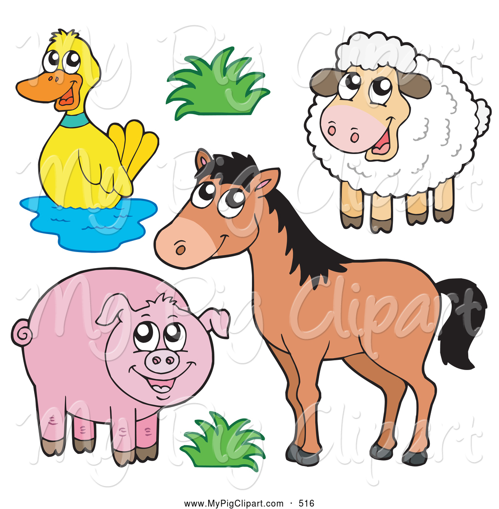 Royalty Free Lamb Stock Pig Designs.