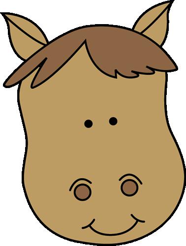 Horse Head Clip Art.
