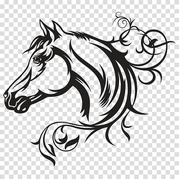 Decal American Quarter Horse graphics Illustration Horse.