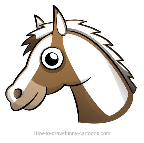 Simple Horse Head Drawing at GetDrawings.com.