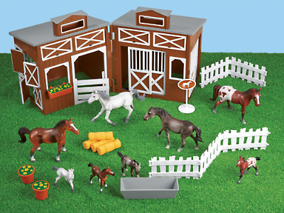 The Horse Stable at Lakeshore Learning.