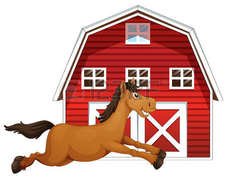 938 Horse Barn Stock Illustrations, Cliparts And Royalty Free.