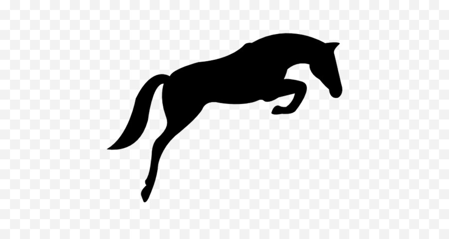Horse Jumping Clipart.