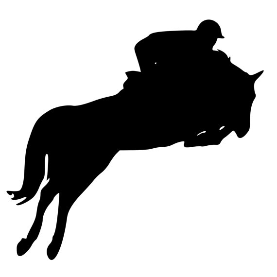 Free Horse Jumping Silhouette, Download Free Clip Art, Free.