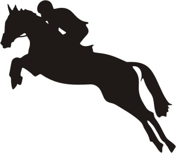Free Horse Silhouette Jumping, Download Free Clip Art, Free.
