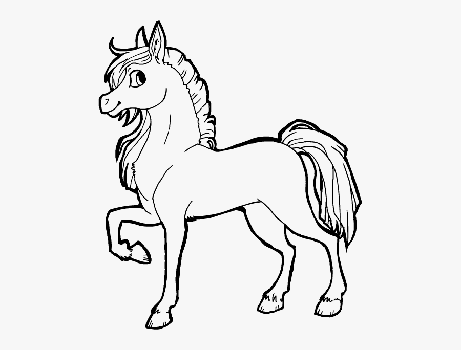 Free Horse Lineart By Griffsnuff On Clipart Library.