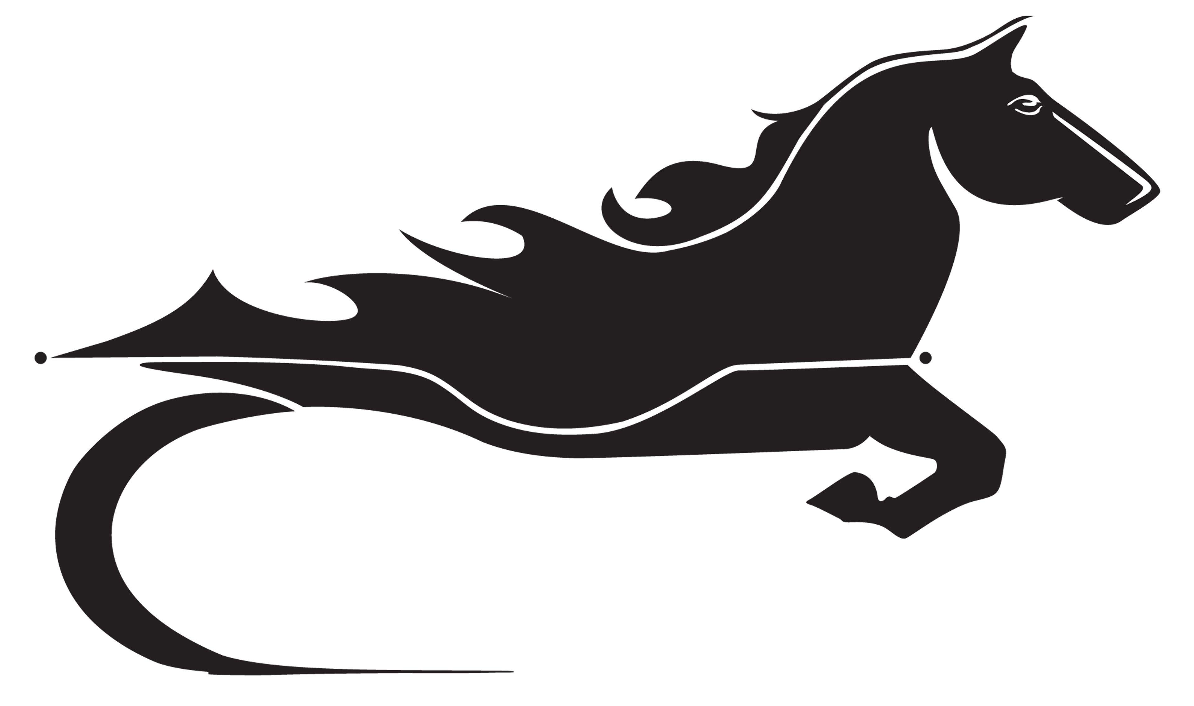 Horse Logo Clipart.