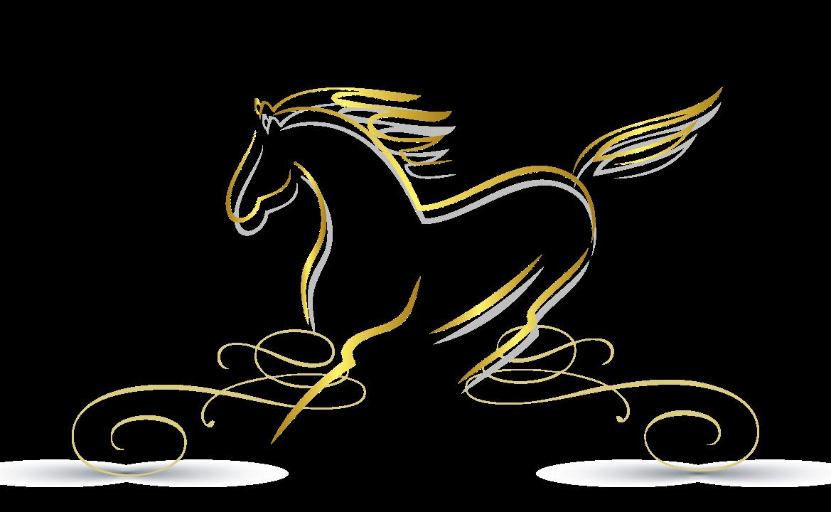 Design Free Logo: Horse online Logo Template.