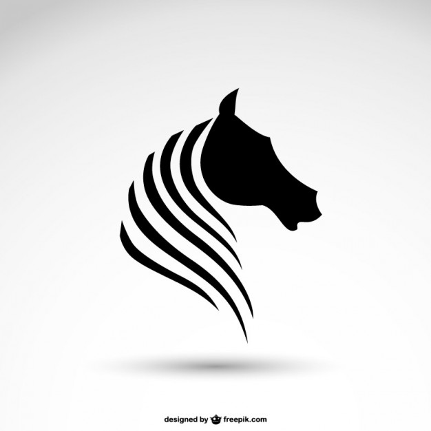 Horse logo Vector.