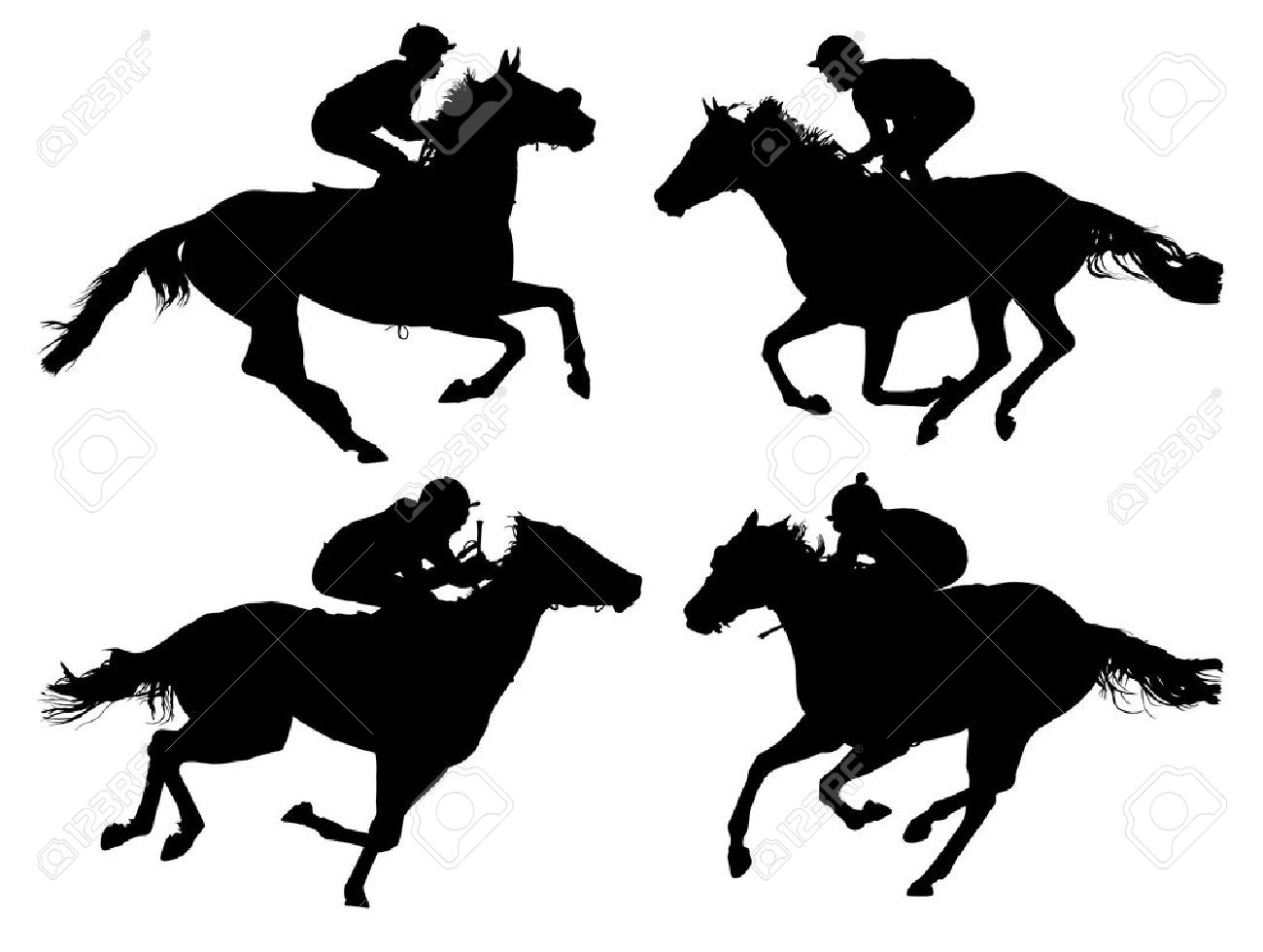 3,034 Horse Racing Stock Illustrations, Cliparts And Royalty Free.