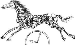 Horse Power Clip Art.