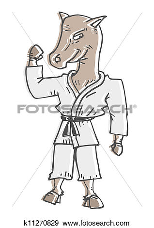 Clip Art of Horse power k11270829.