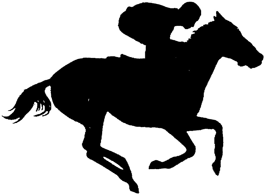 Horse Racing Clipart.