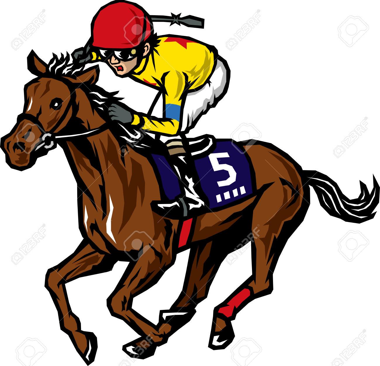 Horse Racing Clip Art & Horse Racing Clip Art Clip Art Images.