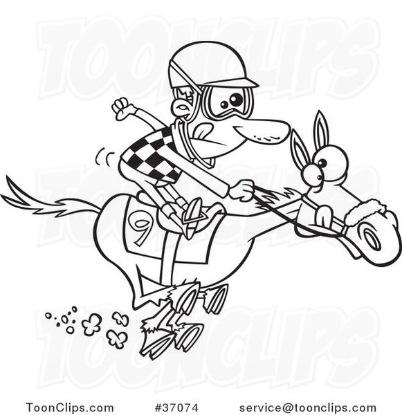 Horse Racing Cartoon Clip Art Horse Racing Cartoons.
