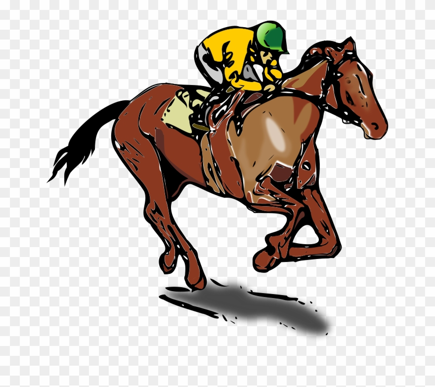 Svg Freeuse Download Clipart Race Horse.