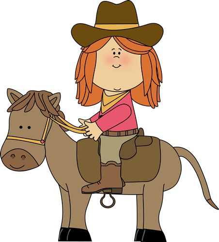 Horse riding clip art.
