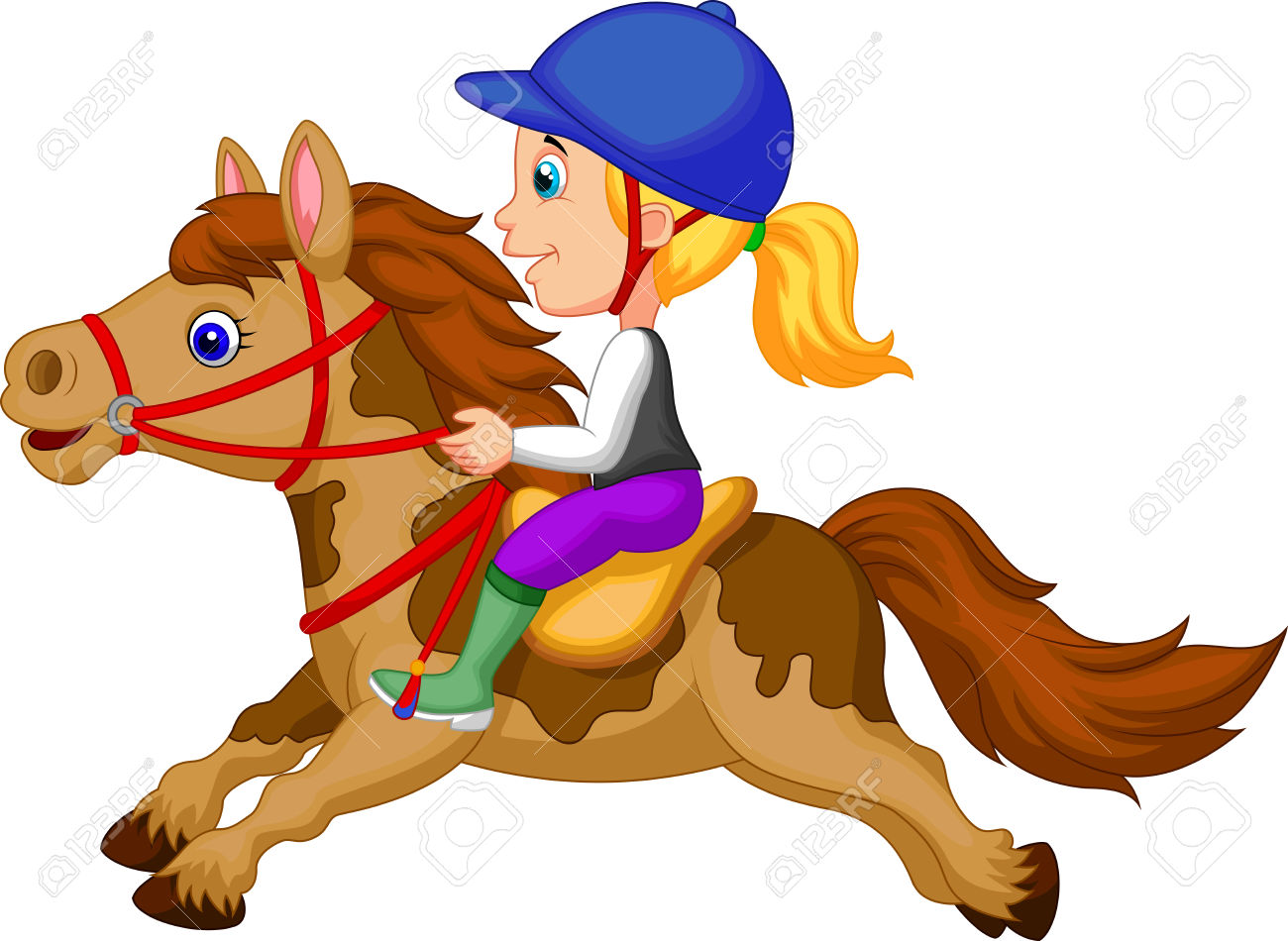 4,020 Horseback Riding Stock Illustrations, Cliparts And Royalty.