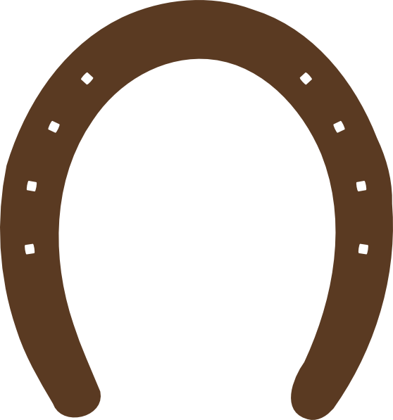 Horseshoe Template Printable.
