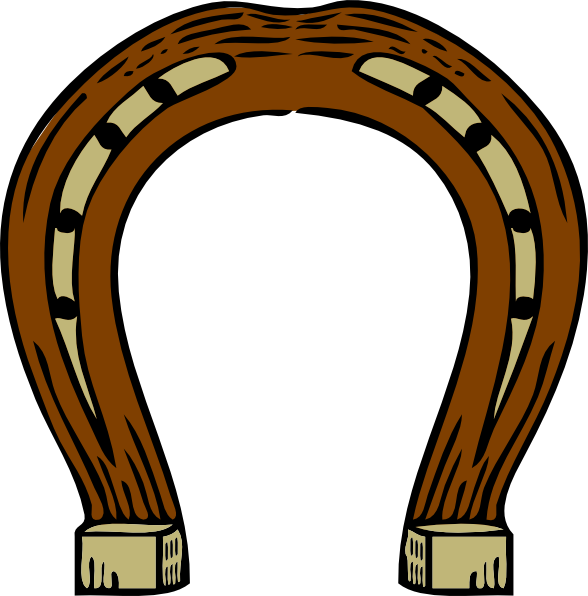 Horseshoe Clip Art Vector Free.