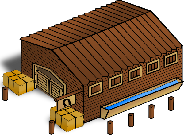 Stables clip art Free Vector / 4Vector.