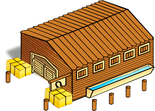 Stable Clipart.