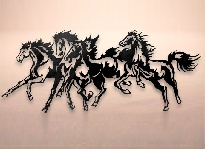 142 best images about plasma cut horses on Pinterest.