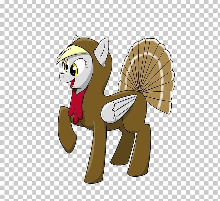 Pony Derpy Hooves Horse Turkey Meat Thanksgiving PNG.