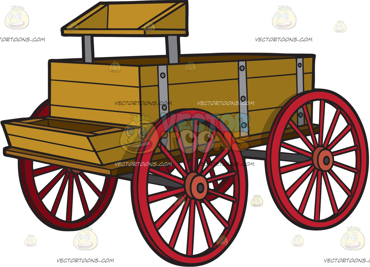 A Vintage Horse Wagon » Clipart Station.