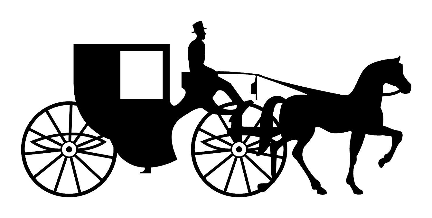 Vehicles For > Cinderella Horse And Carriage Clipart.