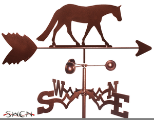 Horse Weathervane Clipart.
