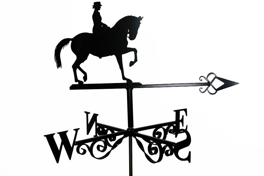 horse weathervane by black fox metalcraft.