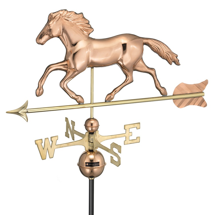 952) Running Horse Weathervane.