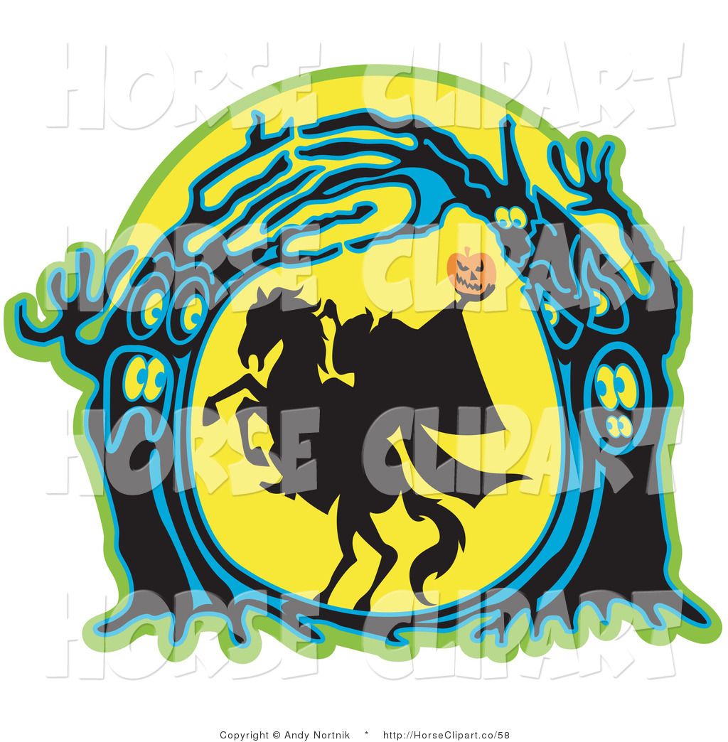 Royalty Free Silhouetted Stock Horse Designs.