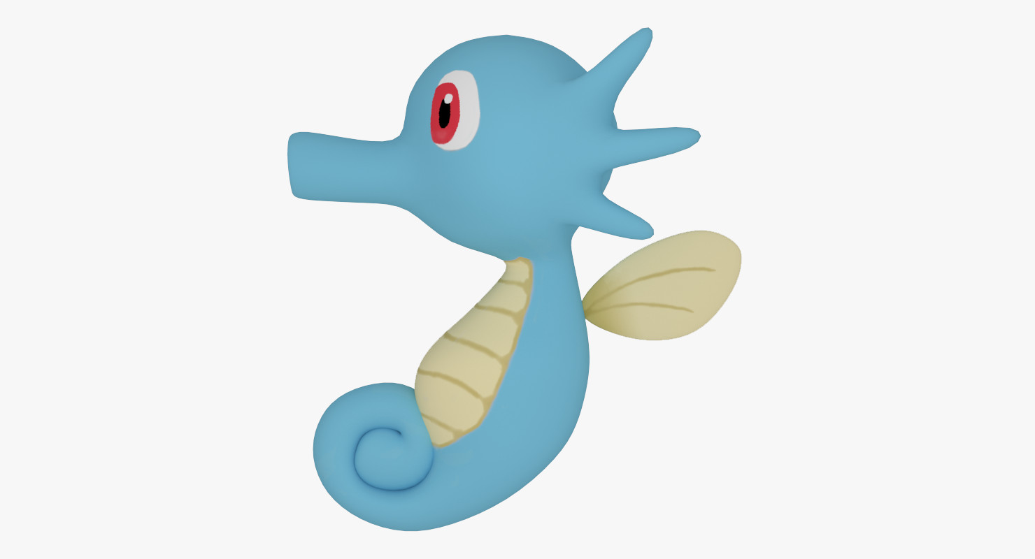 horsea pokemon model.
