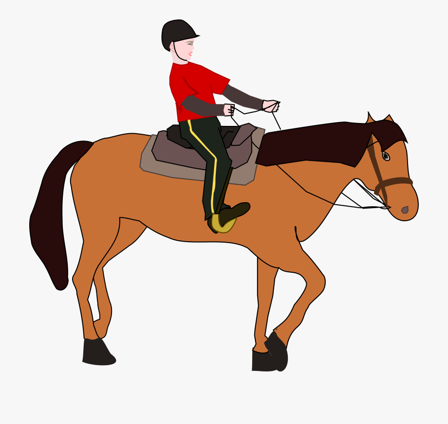 Graphic Free Ride A Horse Clipart.