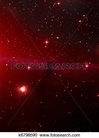 Stock Photography of Horsehead nebula k6798590.