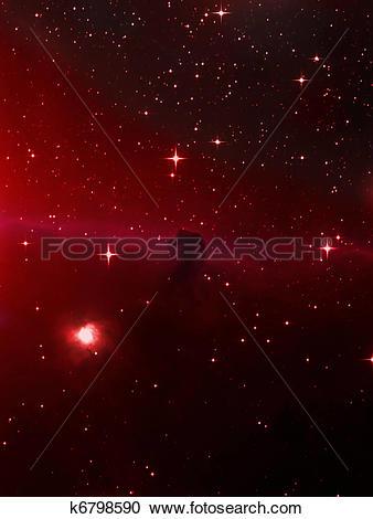 Stock Photography of Horsehead nebula k6798590.