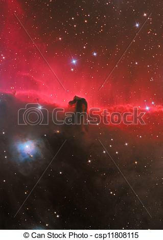 Stock Photography of HorseHead Nebula.