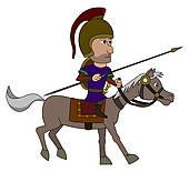 Horseman Clipart and Illustration. 757 horseman clip art vector.