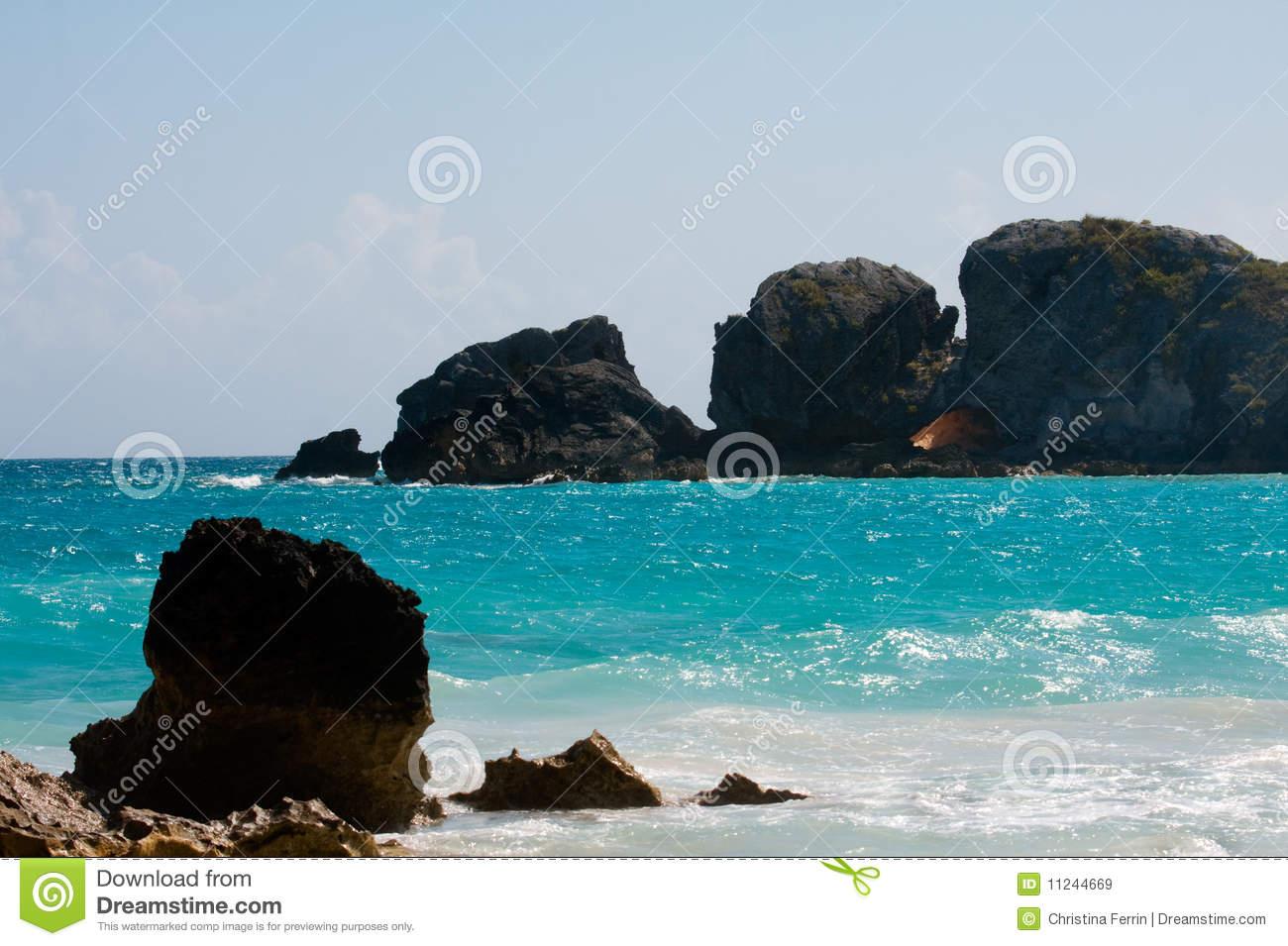 Horseshoe Bay Beach Royalty Free Stock Images.
