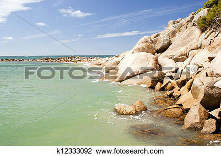 Stock Photo of Horseshoe Bay, South Australia k12333092.