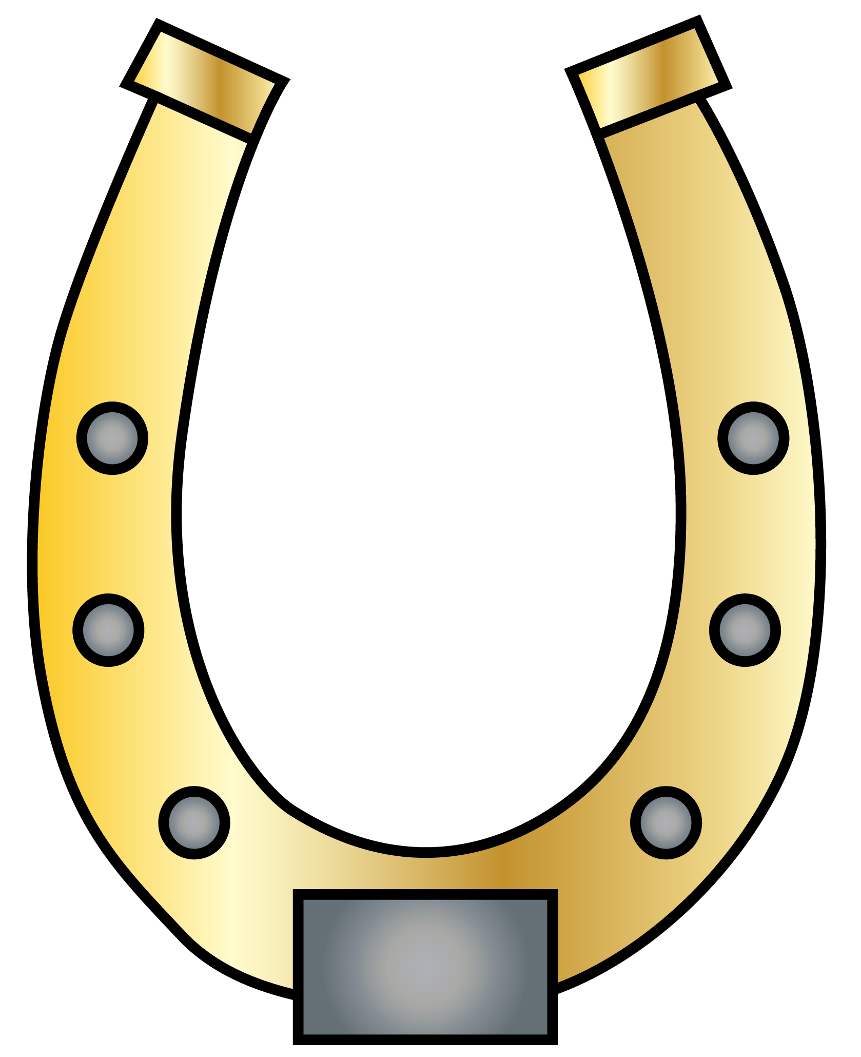 Horseshoe horse shoe clip art.