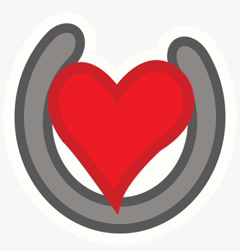 Hearts Clipart Horseshoe.
