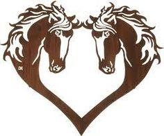 Horseshoe Heart Clipart.