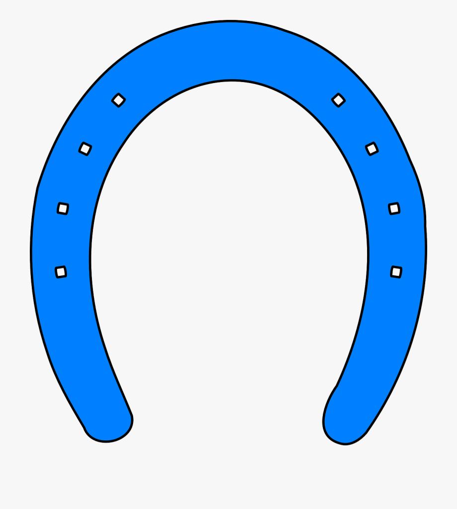 Blue Horse Shoe Clipart, Cliparts & Cartoons.