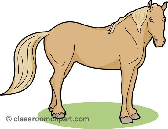 Horse Clip Art Outline.