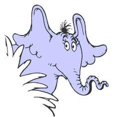 Dr Seuss Clip Art Horton.